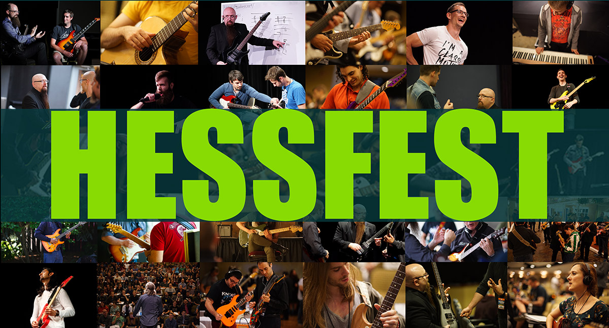 HESSFEST live event for musicians