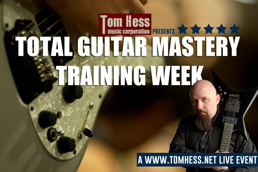 Total Guitar Mastery Training Week