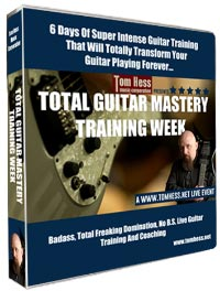 Tom Hess Total Guitar Mastery Training Week